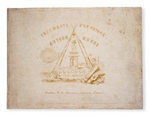 [HAWAII] Fragments d'un voyage autour du mondeBORGET, Auguste (1808-1877)# 3754