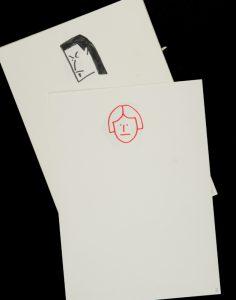 Self-portrait and portrait studies of Robert Jacks et al. dated 1976NIXON, John (1949 - )# 13516
