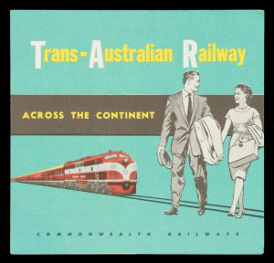 [MAP] Trans-Australian Railway : across the continent