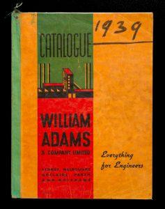 Catalogue : William Adams & Company Limited. Sydney, Melbourne, Adelaide, PerthWILLIAM ADAMS & COMPANY LTD.# 13227