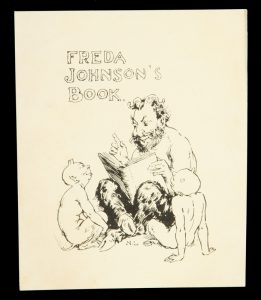 Bookplate for Freda Johnson