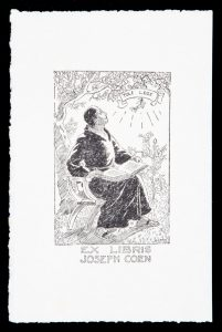 Bookplate for Joseph Coen