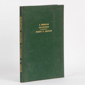 A Brennan collection (presentation copy to Douglas Stewart)CHAPLIN, Harry# 13008