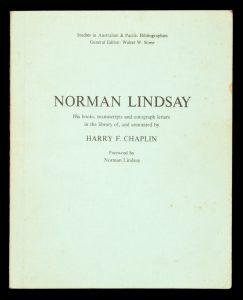 Norman LindsayCHAPLIN, Harry# 13007