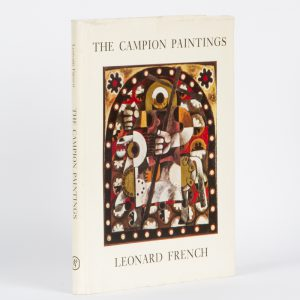 Leonard French. The Campion paintings