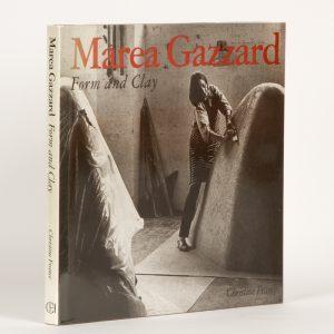 Marea Gazzard : form and clay (signed copy)FRANCE, Christine; GAZZARD, Marea.# 12985