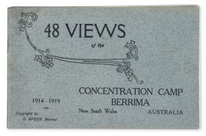 48 views of the Concentration Camp, Berrima, New South Wales, Australia, 1914-1919.SPEER, D.# 12786