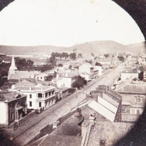 Hobart Town from the tower of St. David's