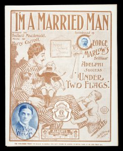 [SHEET MUSIC] I'm a married man