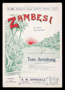 [SHEET MUSIC] Zambesi : an African love serenade