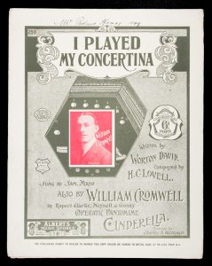 [SHEET MUSIC] I played my concertina