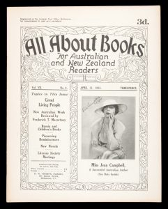 [JEAN CAMPBELL] All about books for Australian and New Zealand readers.