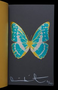 Damien Hirst : The Souls I - IV (deluxe edition with original signed print)