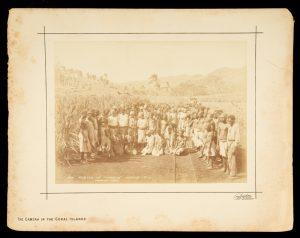 """Muster of """"labour"""", Mango, Fiji.BURTON BROS.# 12239"""
