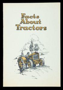 Facts about tractorsVACUUM OIL CO. PTY. LTD.# 12161
