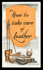 How to take care of leather