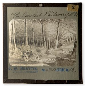 [TASMANIA] The Convict Railway, P.A. [Port Arthur]