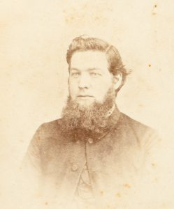 Photographic portrait of Rev. W. Alfred, Ballarat, late 1860s