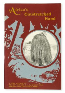 [MISSIONS] Africa's outstretched hand : a vivid account of the Rev. and Mrs. J.A.G. Finley's tourPEARCE, Winifred M.# 11868