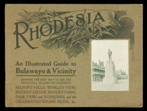 Rhodesia. An illustrated guide to Bulawayo & vicinity# 11838