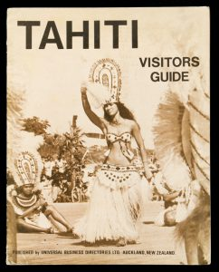 UBD tourist guide to French Polynesia and Tahiti 1973UNIVERSAL BUSINESS DIRECTORIES# 11814