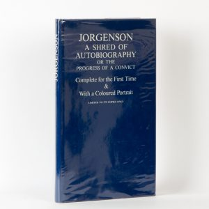 Jorgenson : a shred of autobiography