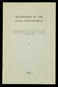 [YORKE PENINSULA] Methodism in the Maitland district