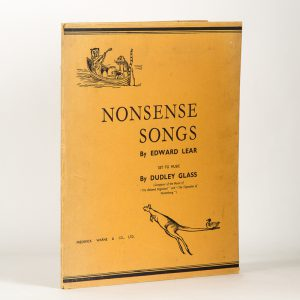 Nonsense songs by Edward Lear / set to music by Dudley Glass / all the original pictures