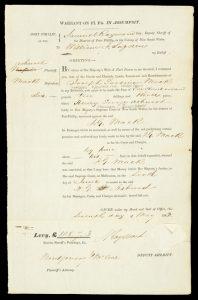 Samuel Raymond Esq. deputy Sheriff of Port Phillip ... to William J. Sugden.PORT PHILLIP. SUPREME COURT.# 11190