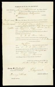 Samuel Raymond Esq. deputy Sheriff of Port Phillip ... to William J. Sugden.PORT PHILLIP. SUPREME COURT.# 11188