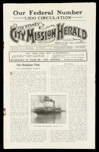 [BRISBANE] Sydney City Mission herald. Vol. XVII, no. 13. September 1, 1914.SYDNEY CITY MISSION# 11170