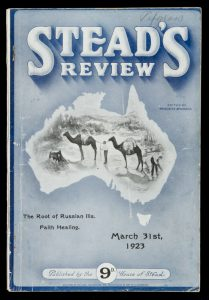Stead's review. March 31st, 1923.ATKINSON, Meredith (editor)# 11166