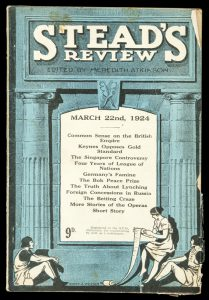 Stead's review. March 22nd, 1924.ATKINSON, Meredith (editor)# 11165