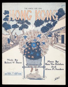 [SHEET MUSIC] Hong Kong : the Chinese love song