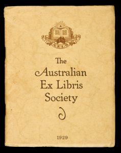 The Australian Ex Libris Society Year Book, 1929The Australian Ex Libris Society# 11076