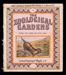 The zoological gardens. Hyaenas, stag, jaguar, fox, otter, camel# 10933