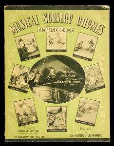 [SHEET MUSIC] Musical nursery rhymes picture bookOUTHWAITE, Ida Rentoul (illustrator)# 10853