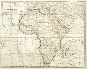 [MAP] Carte de l'AfriqueDELISLE, Guillaume (1675-1726); BUACHE, Ph.; DEZAUCHE, J.# 10844