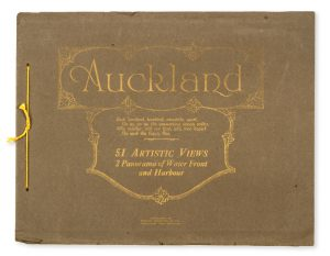 Auckland : 51 artistic views, 2 panorama of water front and harbour.FRANK DUNCAN & CO.# 10795