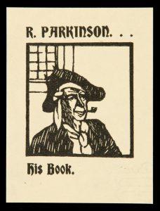 Bookplate for R. ParkinsonLINDSAY, Norman (1879-1969)# 10537