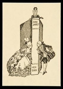Bookplate for Dora JarretLINDSAY, Norman (1879-1969)# 10535