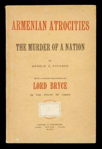 Armenian atrocities: the murder of a nationTOYNBEE, Arnold. J.# 10972