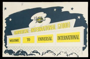[HOLLYWOOD] Welcome to Universal International