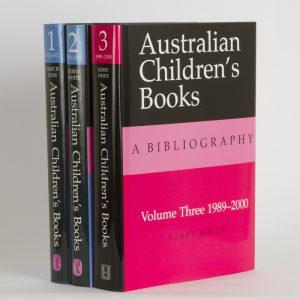 Australian children's books : a bibliographyMUIR, Marcie; WHITE, Kerry# 9967