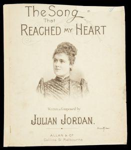 [SHEET MUSIC] The song that reached my heartJORDAN, Julian# 9708