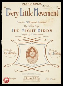 [SHEET MUSIC] Every little movement