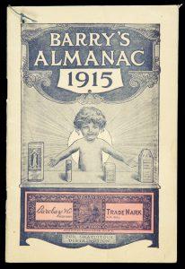 Barry's almanac 1915[BARRY HAIR PRODUCTS]# 9689