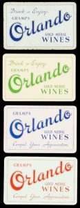 [WINE] Drink & enjoy Gramp's Orlando Gold Medal wines : compel your appreciation