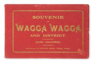Souvenir of Wagga Wagga and district. Hand coloured.HUNTER BROS.# 9423