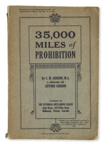35,000 miles of prohibition : a study of North American prohibition